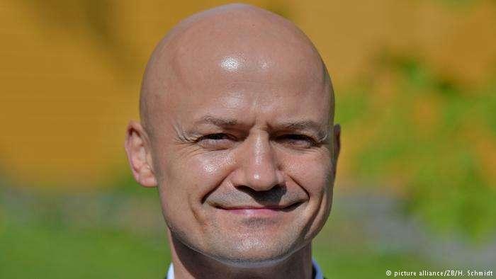 德國東部薩克森州議會議員溫特(Andre Wendt)。(德國之聲)
