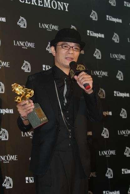 吳朋奉獲第47屆金馬獎最佳男配角。(圖/文化+)