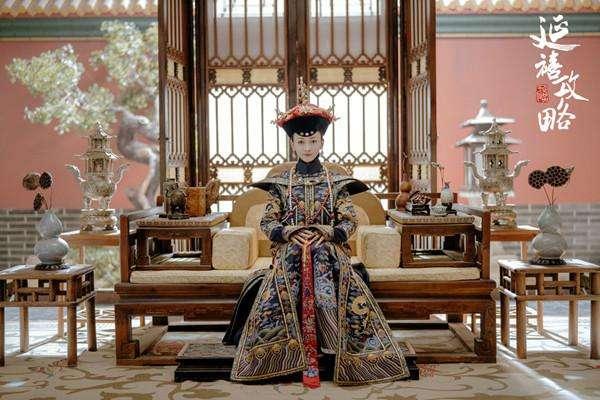 《延禧攻略》劇照,吳謹言飾演的魏瓔珞成為劇中宮鬥的最後勝利者。(圖/澎湃新聞提供)
