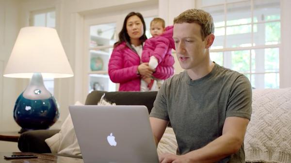 Facebook創辦人祖克伯年紀僅34歲,楊應超指台灣企業主多仍60歲以上還在拚。(圖/佐克伯Facebook)