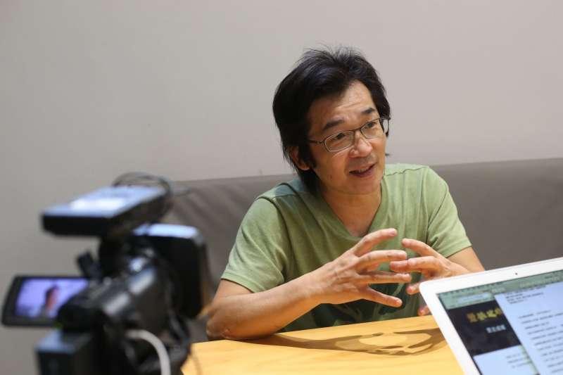 魏德聖對台灣歷史嫻熟。(圖/文化+)
