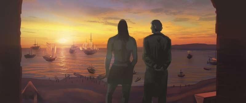 《臺灣三部曲》述說臺灣歷史的開端—超越族群大時代的故事。(圖/文化+)