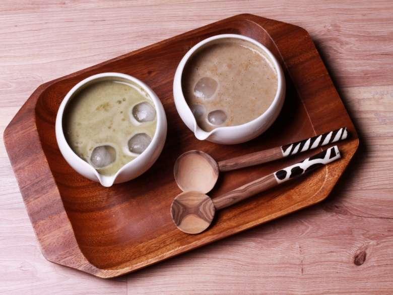 補充能量的營養飲品:多穀茶。(圖/食力foodNEXT)