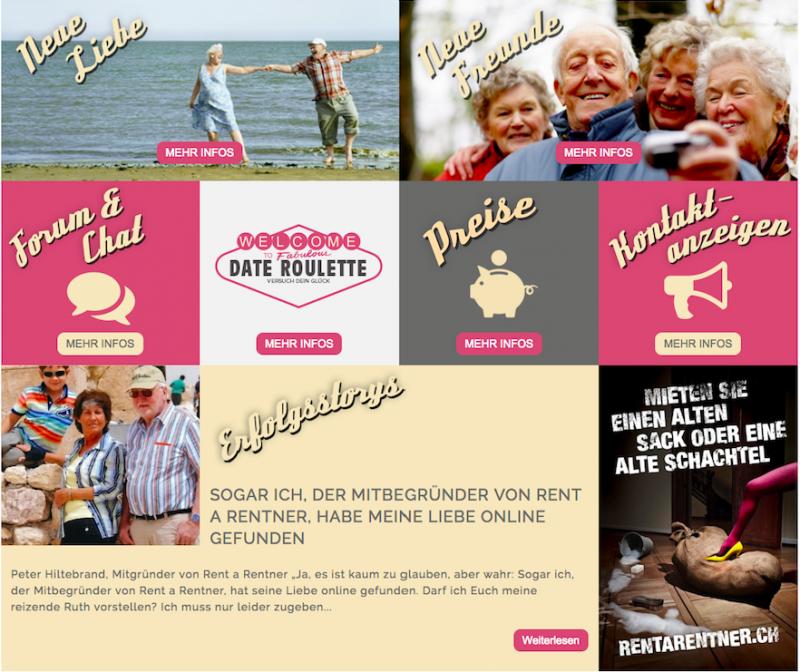 跟一個退休的人約會(date a Rentner)平台經常舉辦各式各樣的聯誼活動。(圖/安可人生提供)