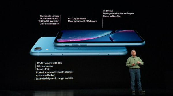 iPhone XR只有螢幕些微遜色,其他規格不輸千元iPhone。(圖/Apple,數位時代提供)