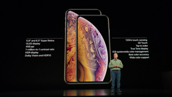 iPhone Xs與Xs Max將於9月21日正式上市。(圖/Apple,數位時代提供)