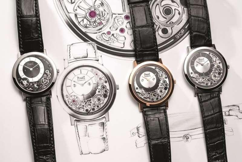 Piaget推出全新Altiplano系列超薄腕錶新作。(圖/Piaget提供)