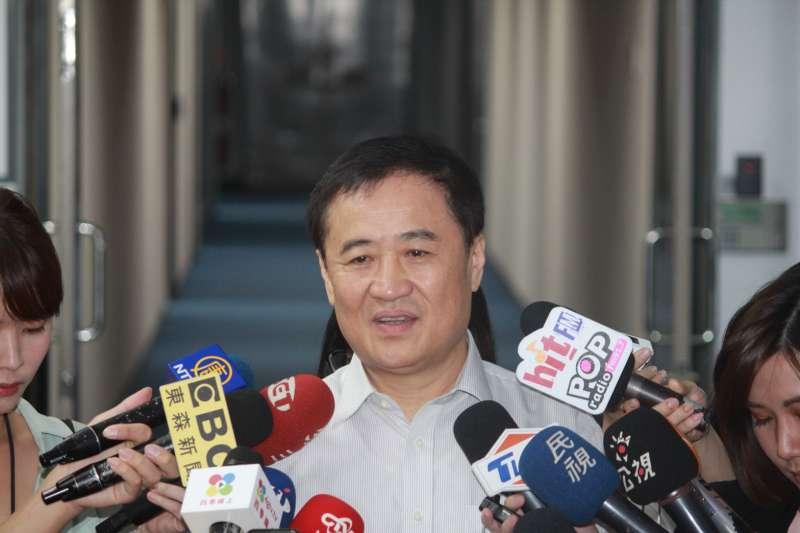 20180914-北市副市長陳景峻今(14)日宣布請辭北農董事長。(方炳超攝)