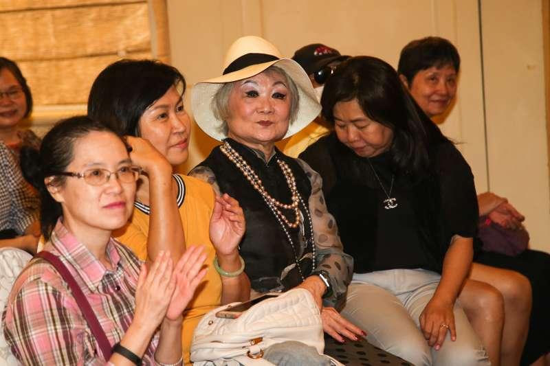 20180916-聯合報發行人王效蘭出席台北市議員王鴻薇感恩募款茶會。(陳明仁攝)