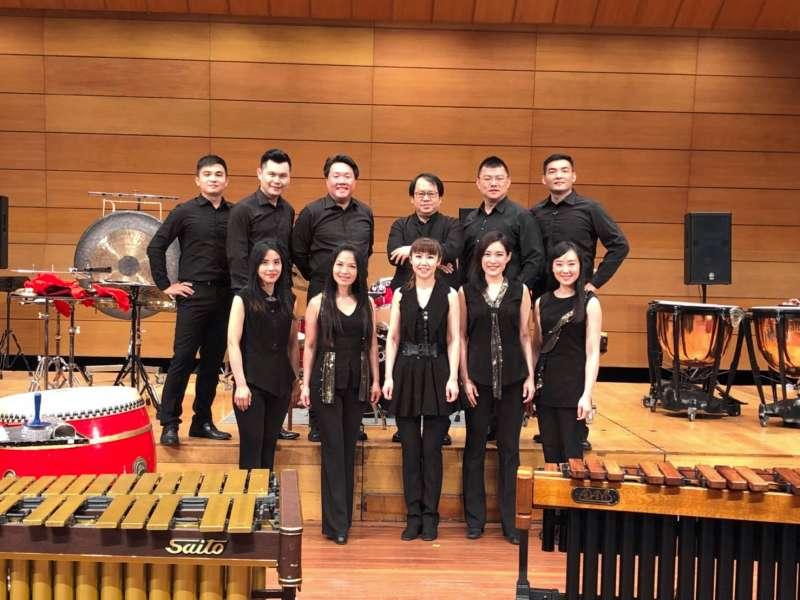 朱宗慶打擊樂團前往泰國文化中心進行演出,表演獲觀眾喝采。(朱宗慶打擊樂團提供)