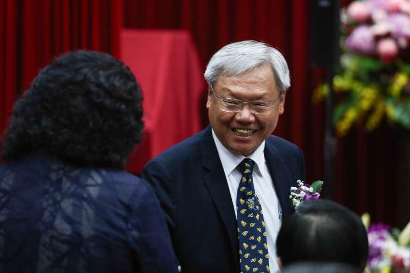 20181917-司法院釋憲七十周年慶祝大會,圖為前司法院副院長蘇永欽。(陳品佑攝)