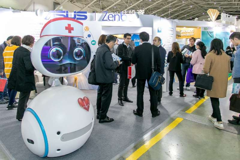 去年七萬人參展的台灣醫療科技展,將於11月底盛大登場。(圖/taiwan-healthcare)
