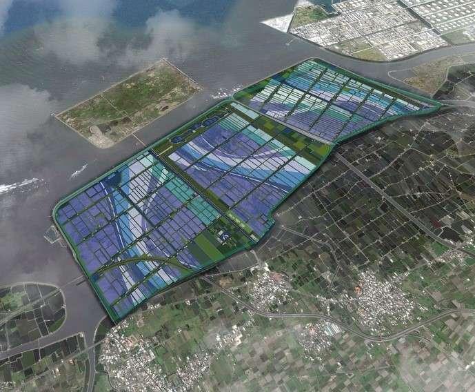 配合政府2025年非核家園目標,雲林提出台西綠能專區開發計畫案,面積達1,163公頃,可望成為亞洲最大的綠能專區,以活化閒置土地,建立地方自主、彈性、穩定之電力網絡。(圖/雲林縣政府提供)