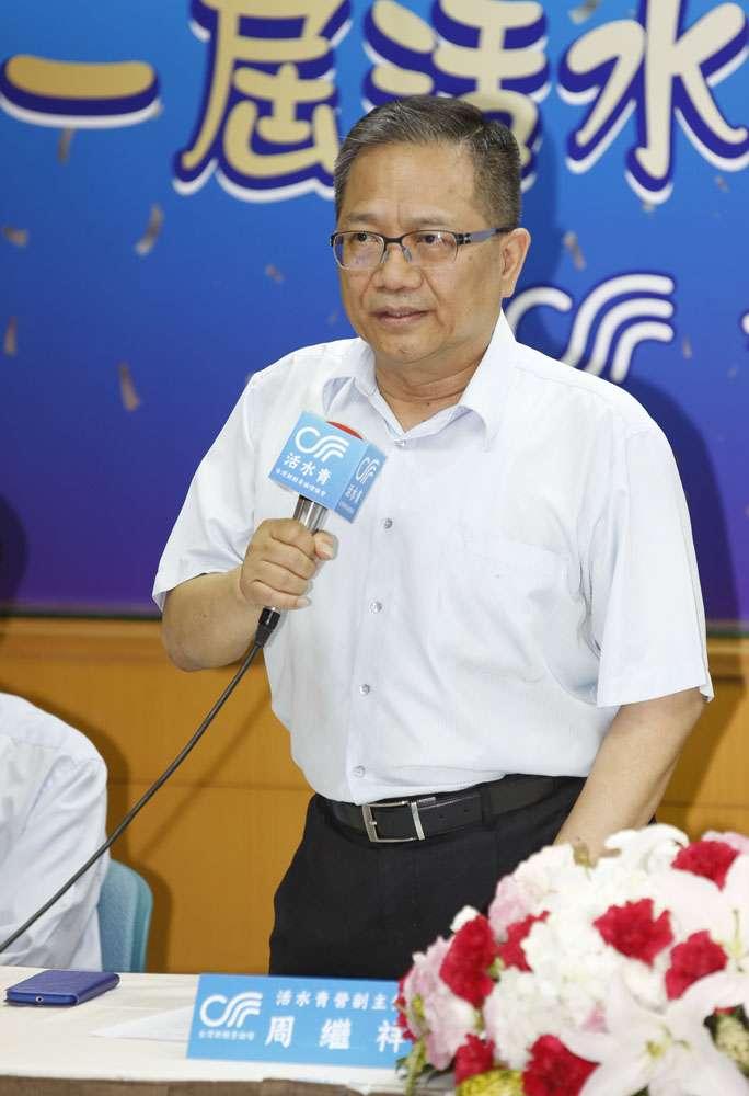 海基會董事周繼祥(圖)是吳敦義的兩岸操盤手。(郭晉瑋攝)
