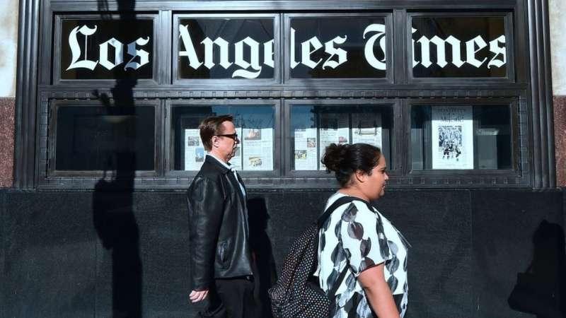 南非出生的生物技術億萬富翁帕特里克·桑松(Patrick Soon-Shiong)買下了《洛杉磯時報》。