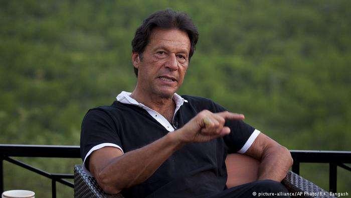 巴基斯坦新總理伊姆蘭‧汗。(德國之聲)