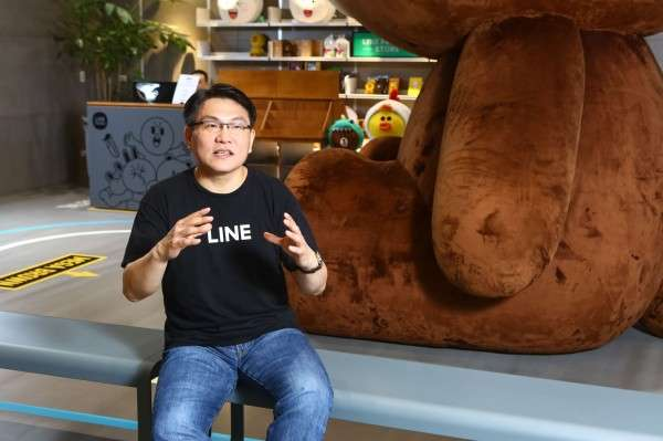 LINE台灣電子商務部資深副總經理顧昌欣表示,阿里巴巴相當重視本地團隊的意見。(圖/蔡仁譯攝,數位時代提供)