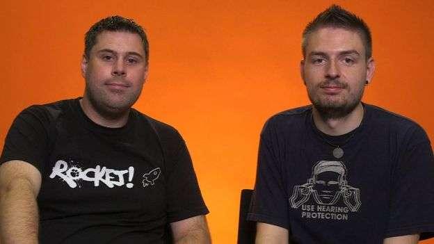 史蒂夫和湯姆已經結婚,但二人間從未發生過性關係。(BBC)