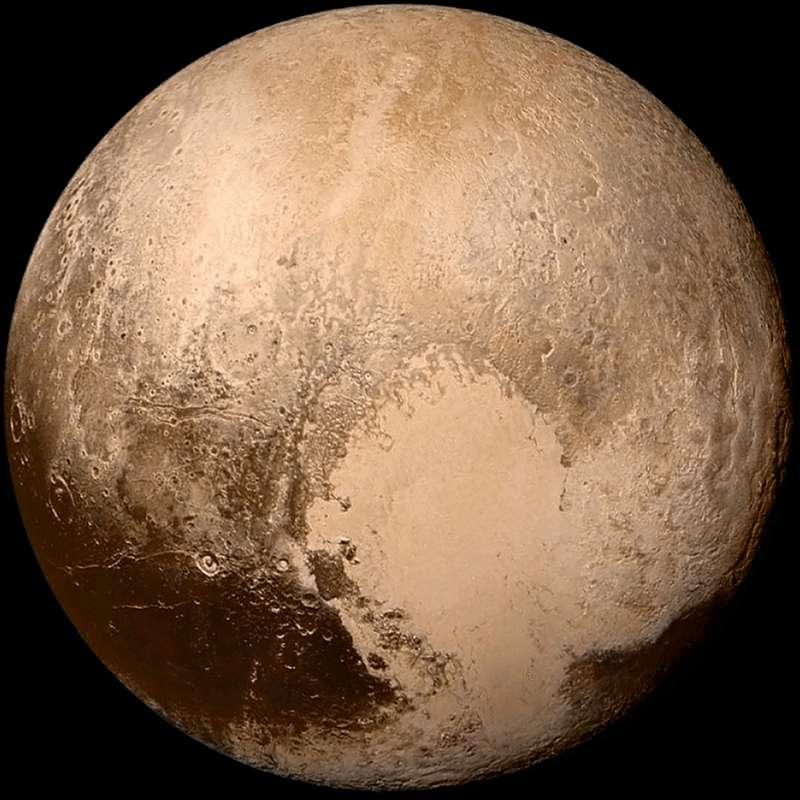 冥王星表面。(圖/取自維基百科)