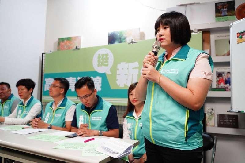民進黨推出由6位新人組成的「高雄青」連線,搶攻不同世代、族群的議員票。(翻攝自鄭孟洳臉書)