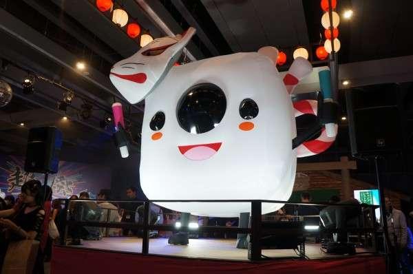 帶有濃厚日本風格的「祭典」,是日本 17 直播獨有的文化特色之一。(圖/陳君毅攝,數位時代提供)