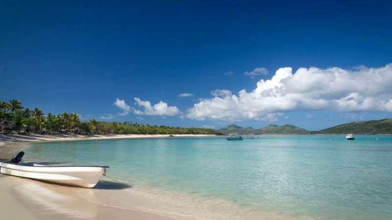 斐濟看上去像似人間天堂,但對李素娟來說是個地獄。(圖/BBC中文網)