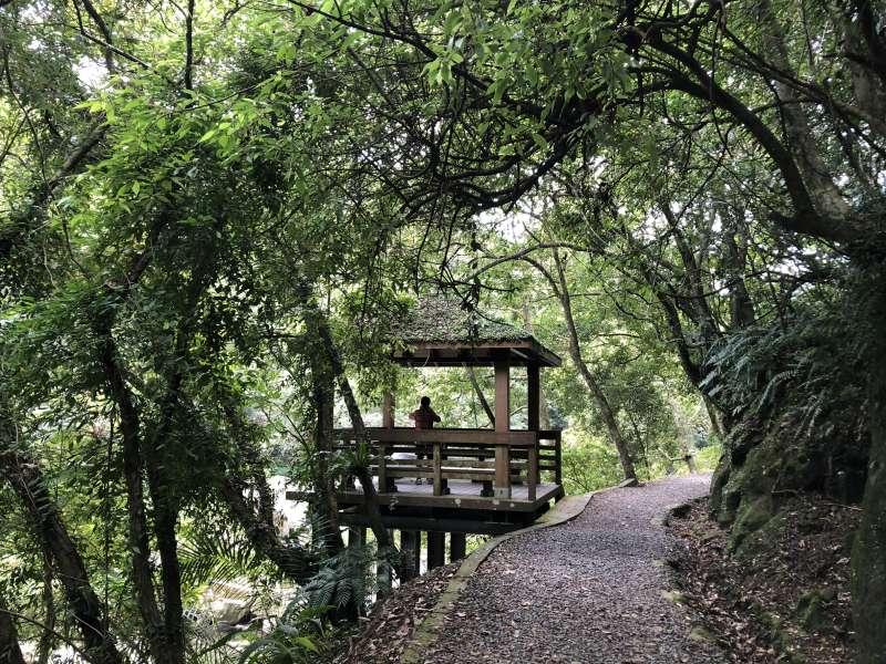 20180930_新北市的淡蘭古道,是國內外登山健行者的秘「徑」。(呂紹煒攝)