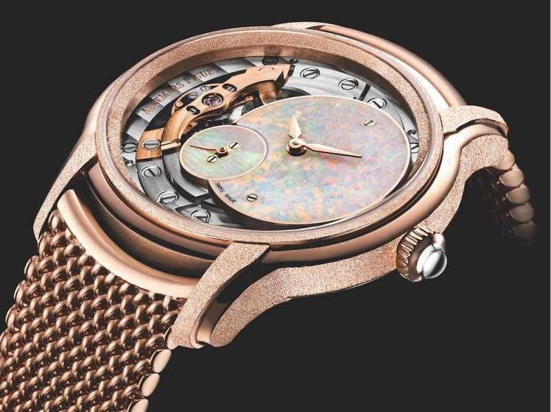 全新一代的Millenary的千禧女錶。(圖/ Audemars Piguet提供)