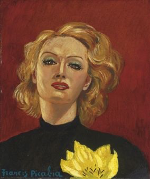 dada2000-5:圖四:Picabia於1941-1942年完成的畫作。私人收藏。(取自Christie's)