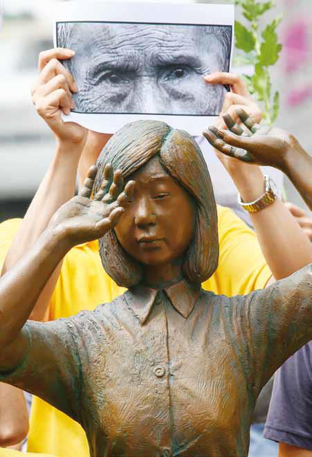 20182005-慰安婦雕像。(圖/多維提供)