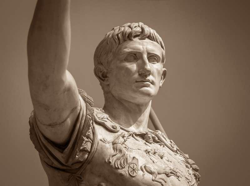 羅馬的第一位皇帝奧古斯都在 75 歲時去世。(圖/*CUP)