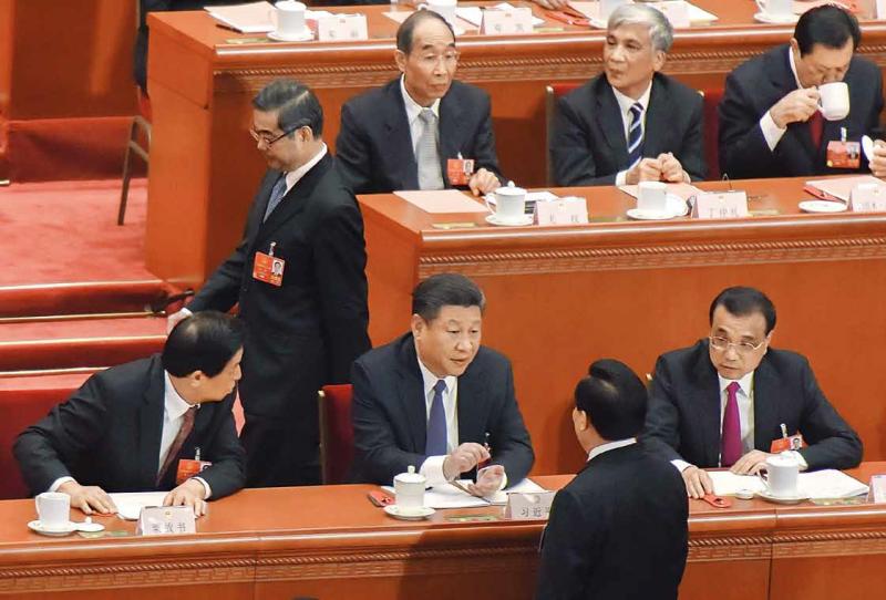 20181005-中國國家主席習近平(圖中)。(圖/多維提供)