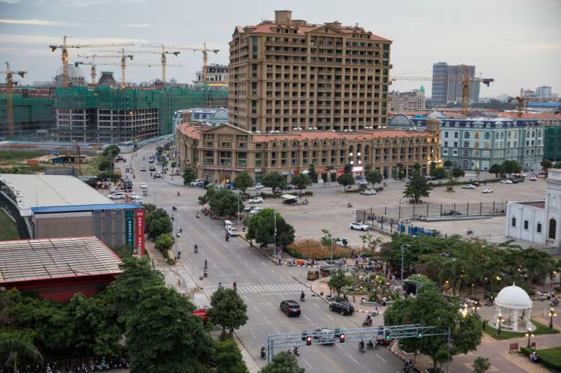 中國購房者已將目標放到了鄰國柬埔寨。(圖/BBC中文網)