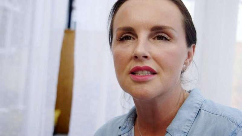 瑞秋曾是家庭暴力的受害者,現在為倖存者積極發聲。(圖/BBC中文網)