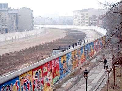 柏林圍牆(圖/維基百科)