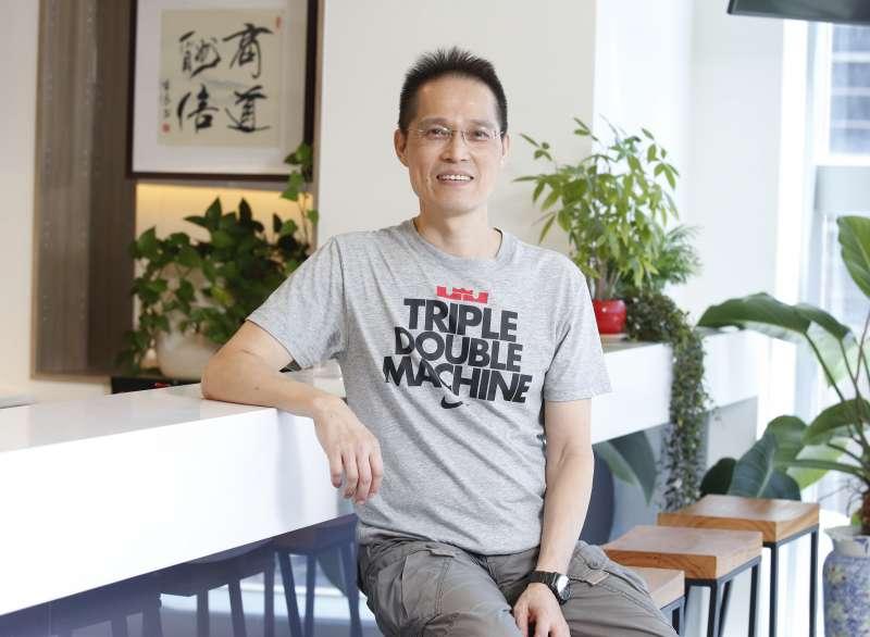 林齊勳說,高科技公司的製程是命脈。(郭晉瑋攝)