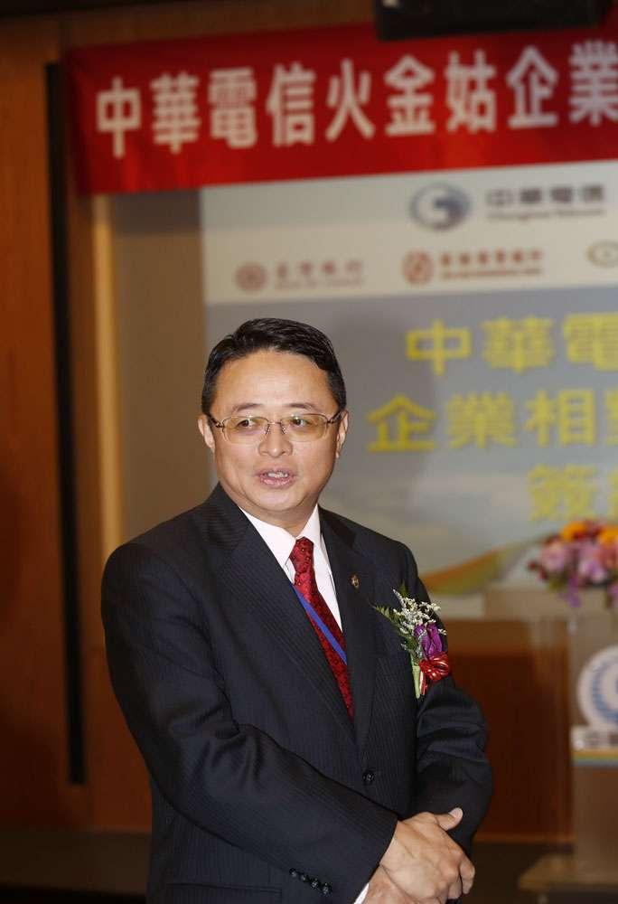 宋雲峰因斷訊事件主張中華電信要有自營影視內容。(郭晉瑋攝)