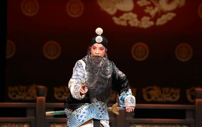 《哭祖廟》鄒慈愛 飾 劉諶(國光劇團提供)