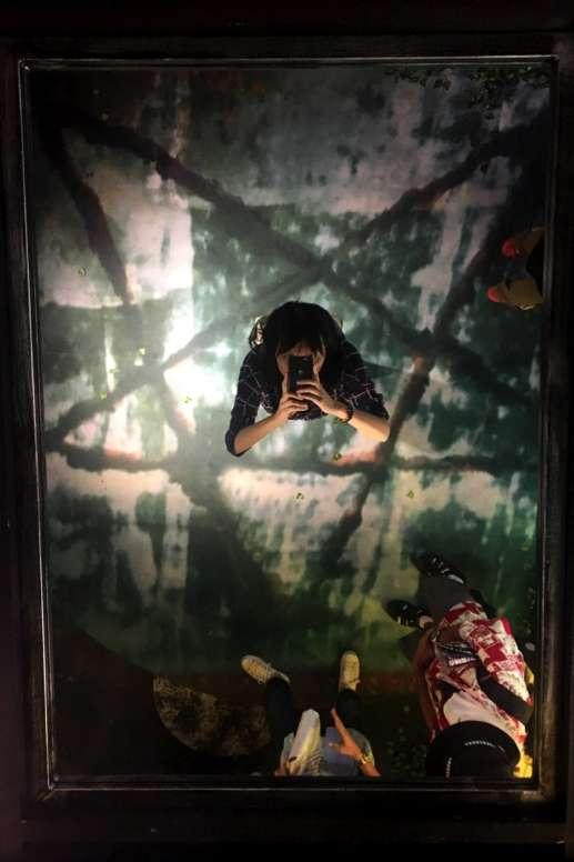 《一屍到底》在日本舉辦主題裝置展。(圖/陳怡秀|想想論壇提供)
