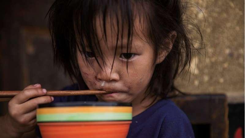 中國一些貧窮的農村地區的兒童與老人精神健康問題更為嚴重。(圖/BBC中文網)