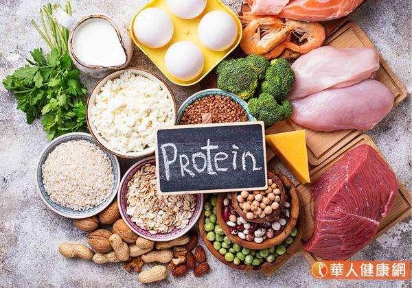 富含蛋白質的食物相當多,豆魚肉蛋及海鮮都是很好的獲取來源。(圖/華人健康網提供)