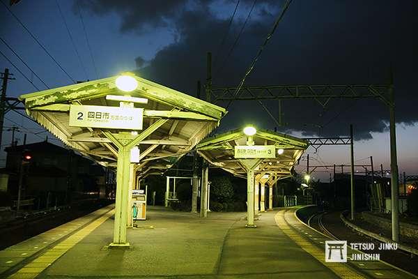 日永站是「內部.八王子線」的分歧站,也是月台路線數最多的車站。(圖/陳威臣攝|想想論壇提供)