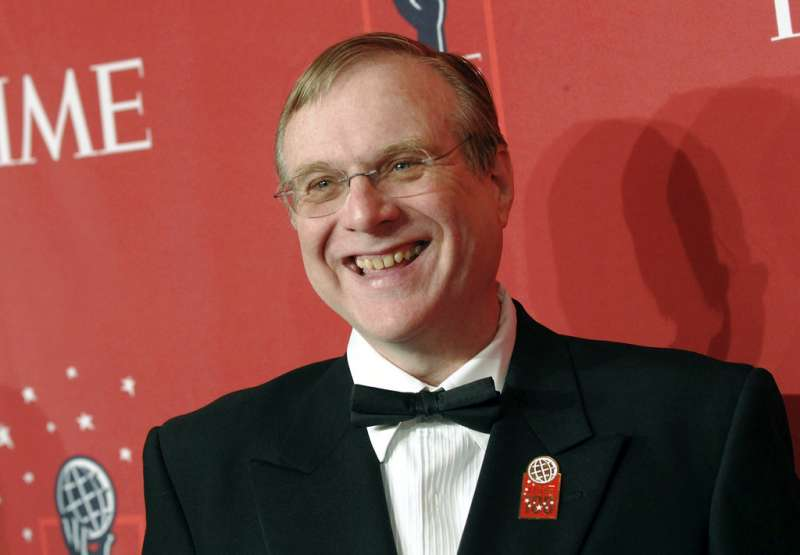 微軟共同創辦人艾倫病逝。(AP)
