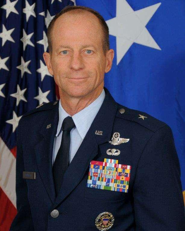 美國總統川普正式提名空軍退役准將史迪威 (David Stilwell)為國務院亞太助卿。(美國空軍官網)