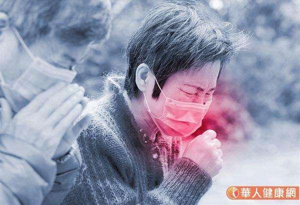 「菜瓜布肺」主要症狀包括:久咳不癒無痰、一動就喘、呼吸困難。(圖/華人健康網提供)