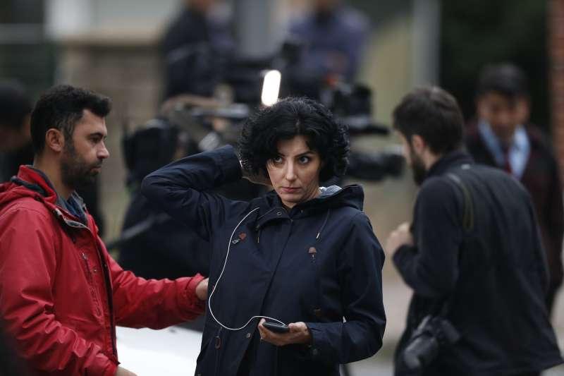 2018年10月,沙烏地阿拉伯異議記者哈紹吉被誘入沙國駐土耳其伊斯坦堡領事館,慘遭殺害分屍,引發全球關注(AP)