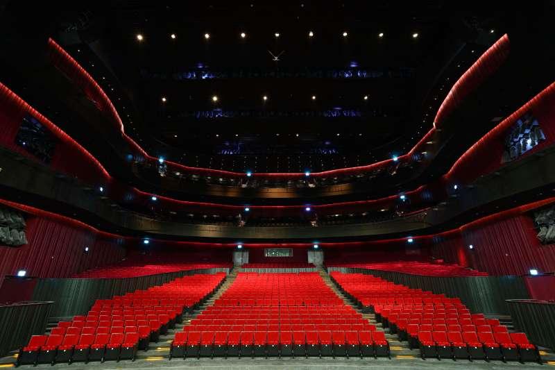 歌劇廳(圖/衛武營國家藝術文化中心|文化+提供)