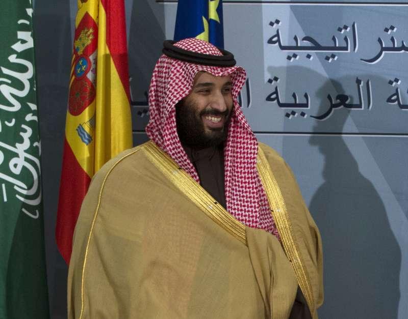 沙烏地阿拉伯異議記者哈紹吉在領事館內慘遭殺害,外界普遍認為沙國王儲穆罕默德難辭其咎。(AP)
