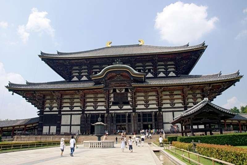 奈良.東大寺(圖/維基百科)