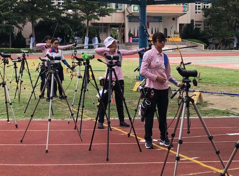 體育署舉辦區域對抗賽,主要是讓基層選手們有好的賽事機會磨練經驗。(圖/新竹市政府提供)